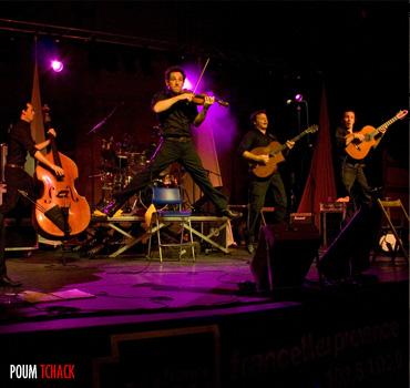 Poum Tchack en concert! Toutes les infos sur PoumTchack.com